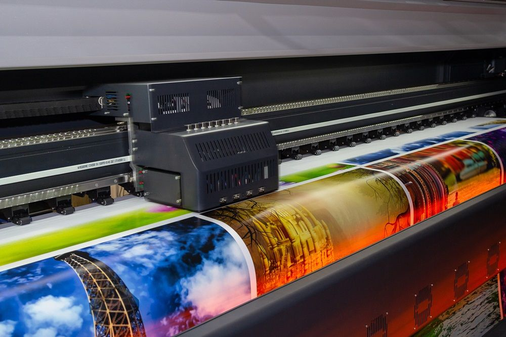 Large color printer